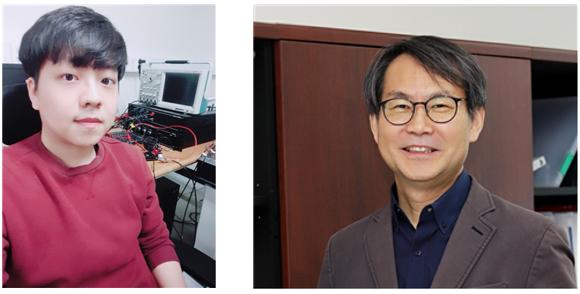 전용민 박사과정(왼쪽)과 최경철 교수님(오른쪽)