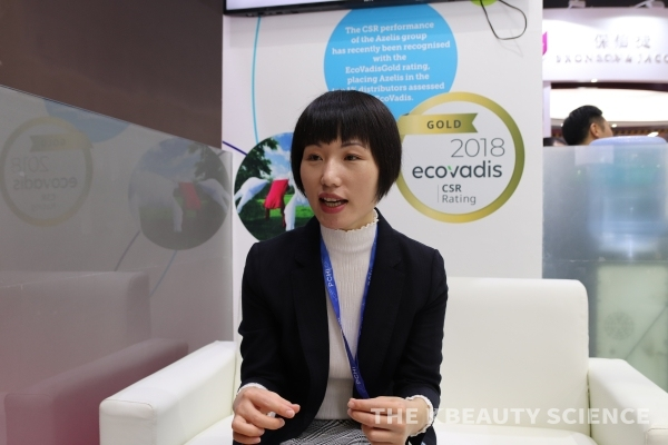 Azelis(Shanghai) 제인 장(Jane Zhang) Head of Personal Care & Home Care(China)